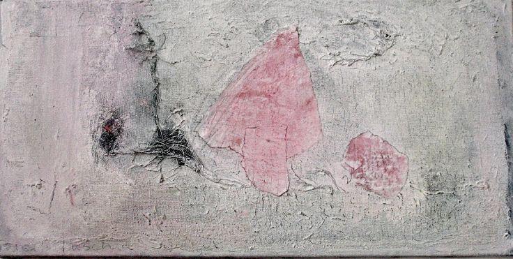 Winter Fuchsia Memory by Judy O'Sullivan on ArtClick.ie Abstract Art