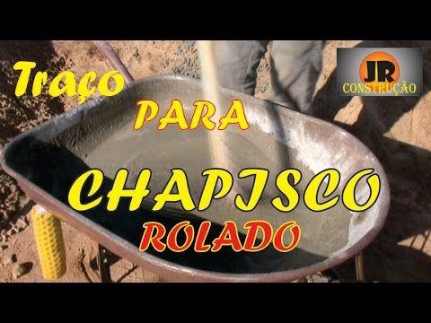 MEDIDAS PARA CHAPISCO APLICADO COM ROLO DE TEXTURA - YouTube