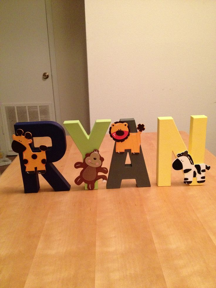 DIY letters for baby boys room  DIY crafts by Alyssa Nethercot