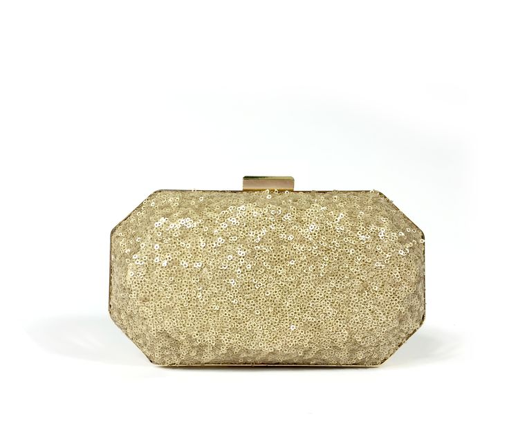 Sequined Covered Metal Box Clutch.. Perfect for Weddings, Viah, Nikah or Shaadi. Get your stylish Box Clutch today.High quality product. From California with Love. Ship time 1-3days :-)
