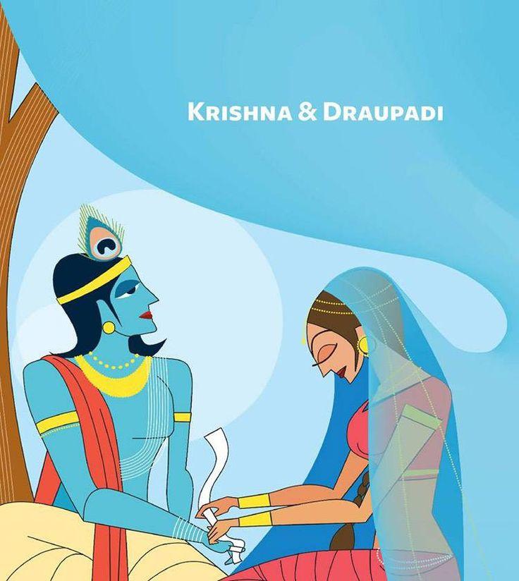 Image result for raksha bandhan story of krishna and draupadi