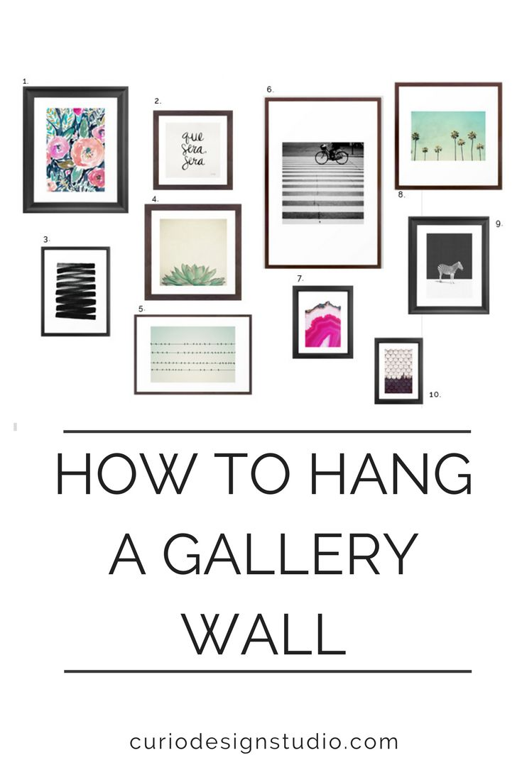 Some of our favorite prints from Society 6 styled together to create a dramatic gallery wall  #gallerywall #society6 #diy #interiordesignideas #designinspiration