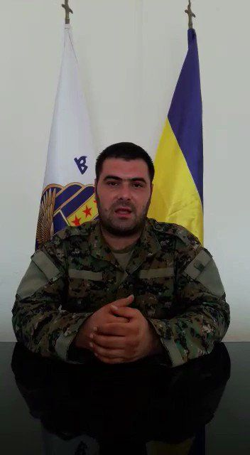 #Media #Oligarchs #MegaBanks vs #Union #Occupy #BLM #SDF #Humanity  Video Statement by #MFS Spokesperson Kino Gabriel about MFS participation in #Raqqa battle and recent developments in Syria. [part 3]  https://twitter.com/SyriacMFS/status/887361004006453248