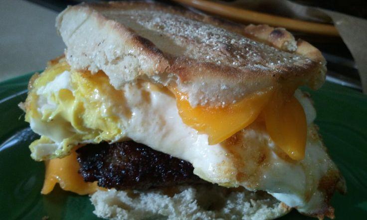 The Perfect Breakfast Sandwich