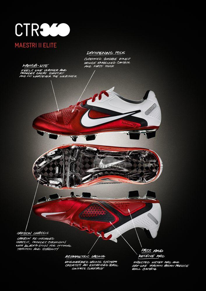 Nike CTR360 Maestri II (2010) - Worn by Fabregas & Iniesta