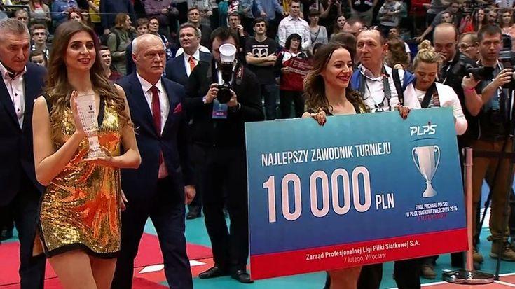 Puchar Polski: Mariusz Wlazły MVP turnieju finałowego