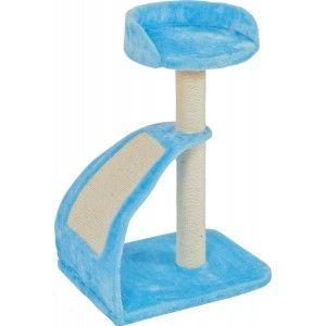 Arbre à chat Wave bleu taille S - Zolux