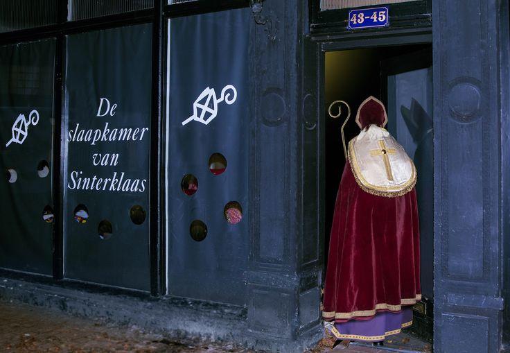 Sinterklaas slaapt in Bussum