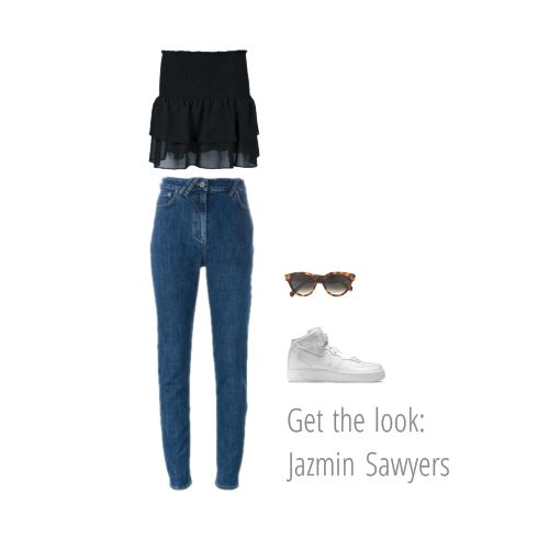 Get the look: Jazmin Sawyers