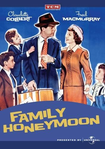 Family Honeymoon - this is a treasure if you can find it. Man marries woman with three children and at the last moment they must take the children on their honeymoon. Comedy