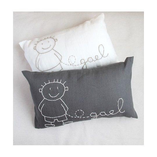 78 ideas sobre almohadas para beb s en pinterest - Cojines para bebes ...