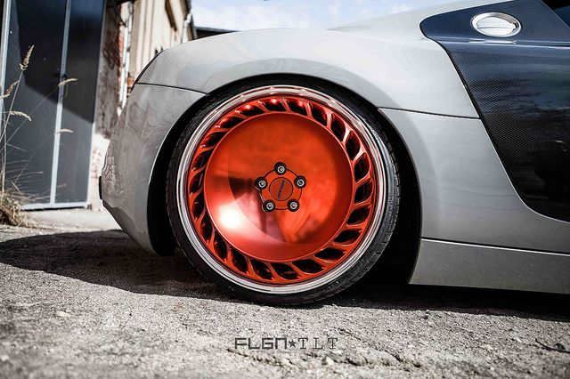 FLGNTLT R8 on Messer wheels by FLGNTLT.com, via Flickr