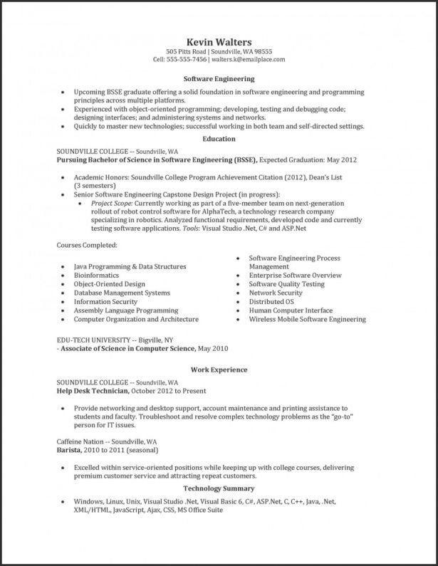 Degree In Progress Resume Student Resume Template Student Resume Resume Template