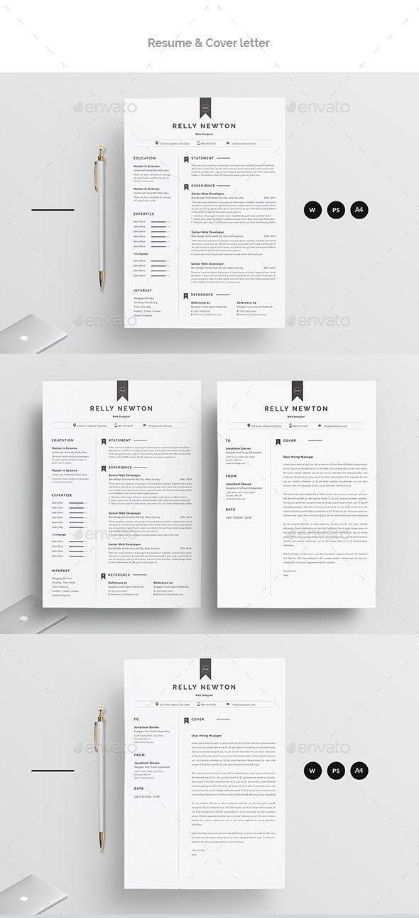 resume resumes stationery print templates stationery pinterest
