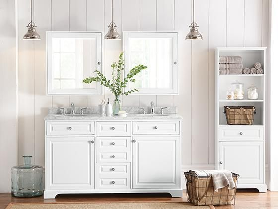 Make Your Bathroom One Thatu0027s Bright, Light And Airy With Beautiful Bath  Furniture. This