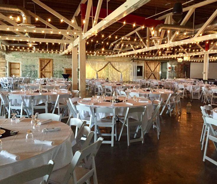 Wedding Ceremony And Reception Set Up In The Bridge Room