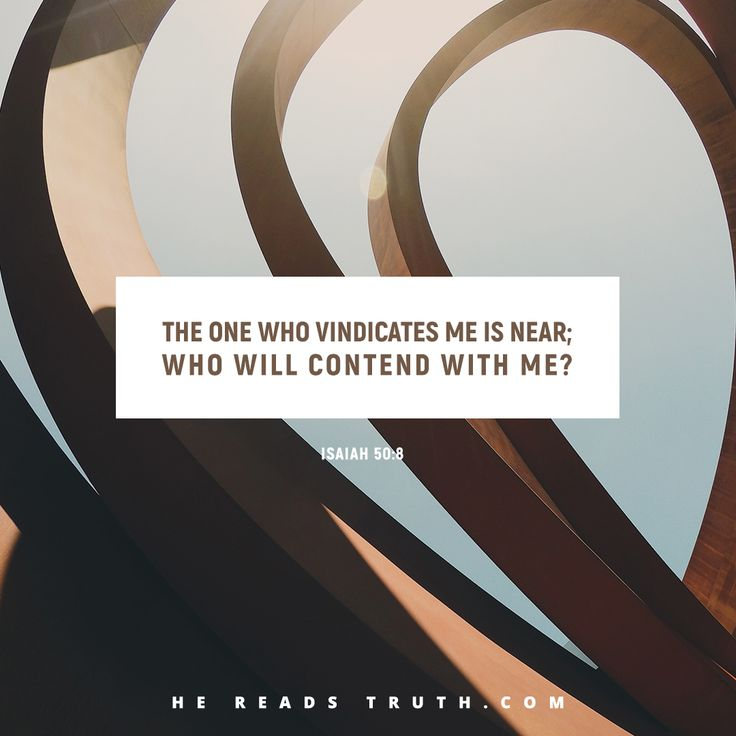 The Lord Will Defend | hereadstruth Day 37:Isaiah 50:1-11, Isaiah 51:1-23, Isaiah 52:1-15, Matthew 27:26-31, John 16:33