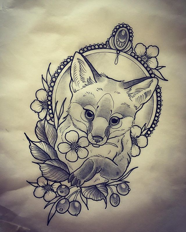 Like that it is a young fox
