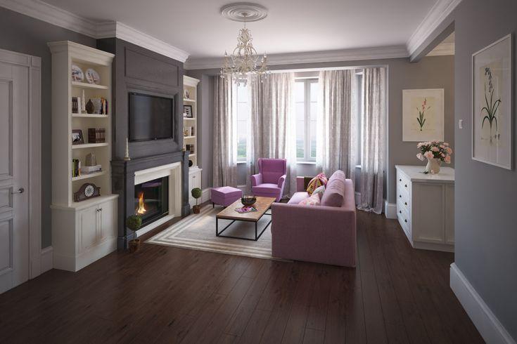 Фото из статьи: Цветовое оформление гостиной: как найти баланс