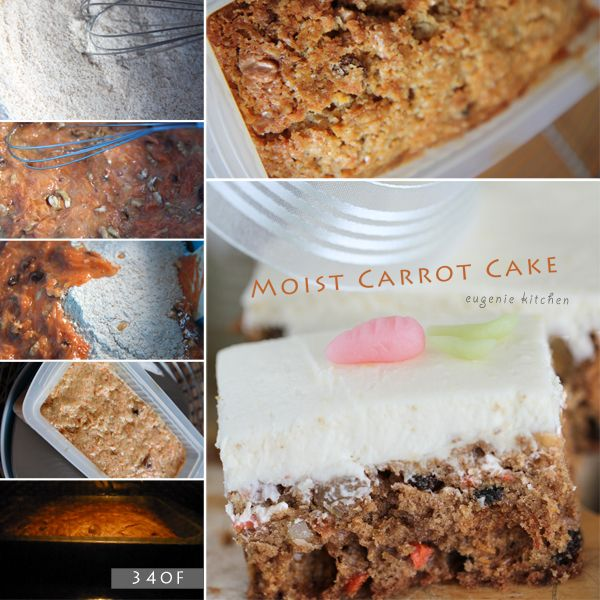 moist-carrot-cake-recipe | Baking - recipes and techniques | Pinterest