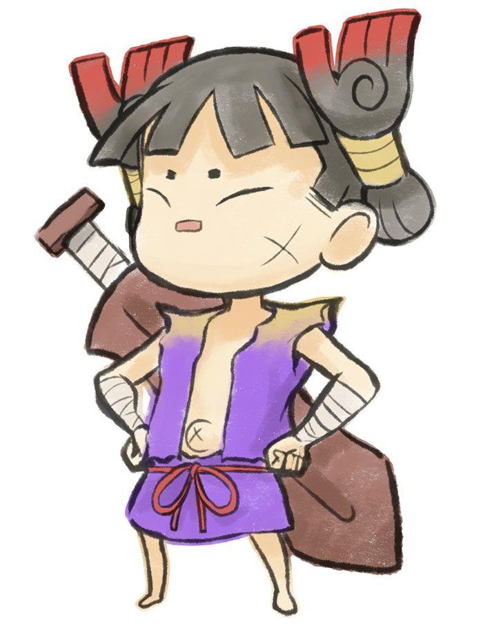 Kuninushi from Okamiden; proportion ref