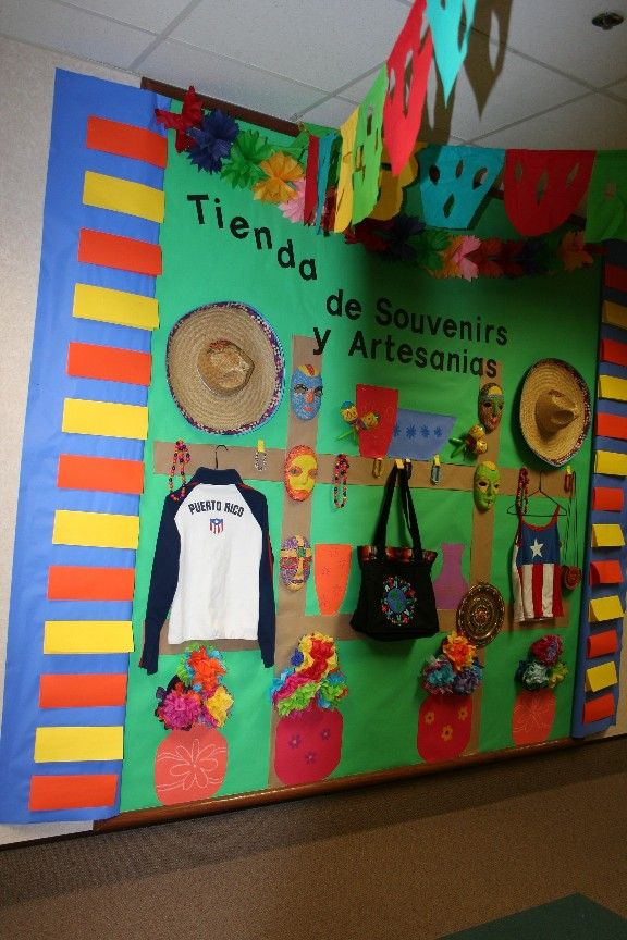 Spanish 1 Classroom Decorations ~ Best ideas about spanish bulletin boards on pinterest