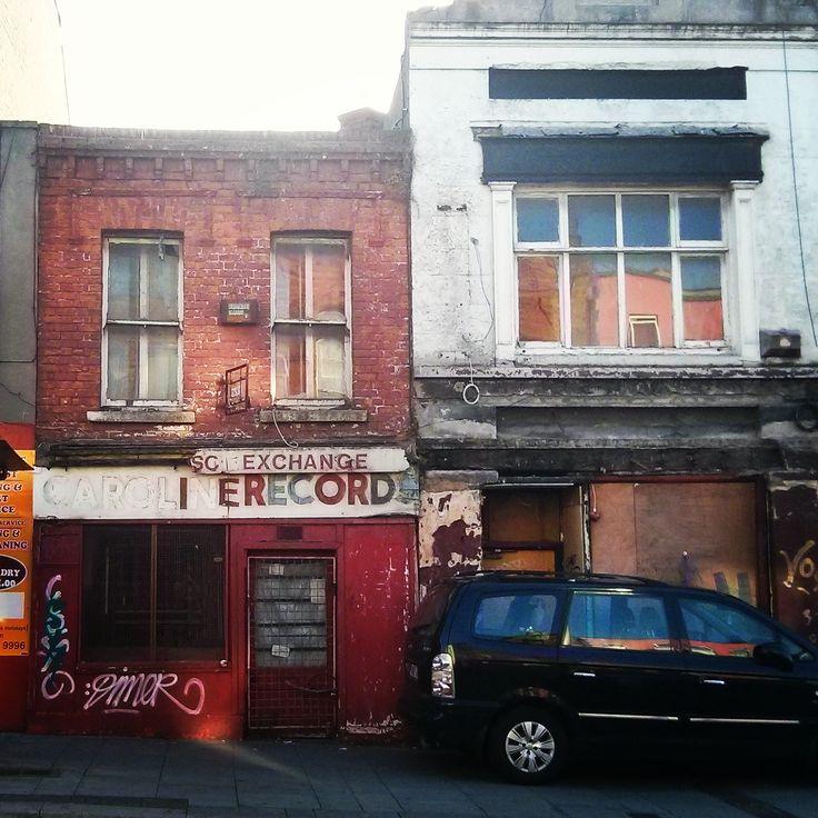 Caroline Records ghost sign, Dublin