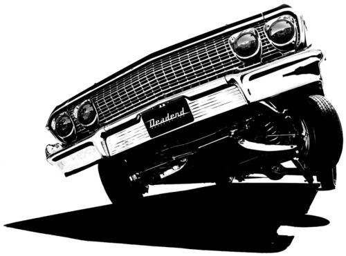 Chevy Impala Lowrider Vector