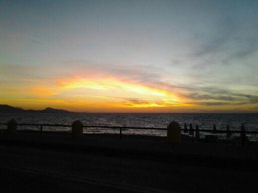 Sunset... Rhodes Town, Greece