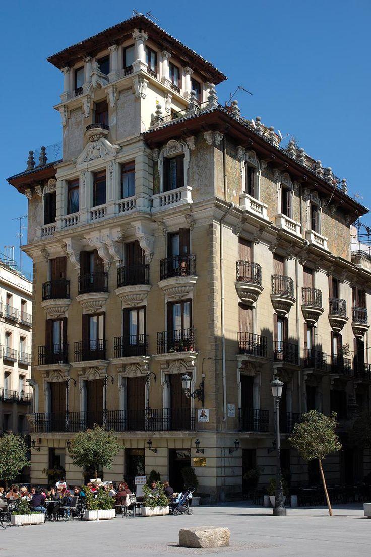Mejores 205 im genes de palacios palacetes de madrid en pinterest palacios madrid y edificios - Casa ricardo madrid ...
