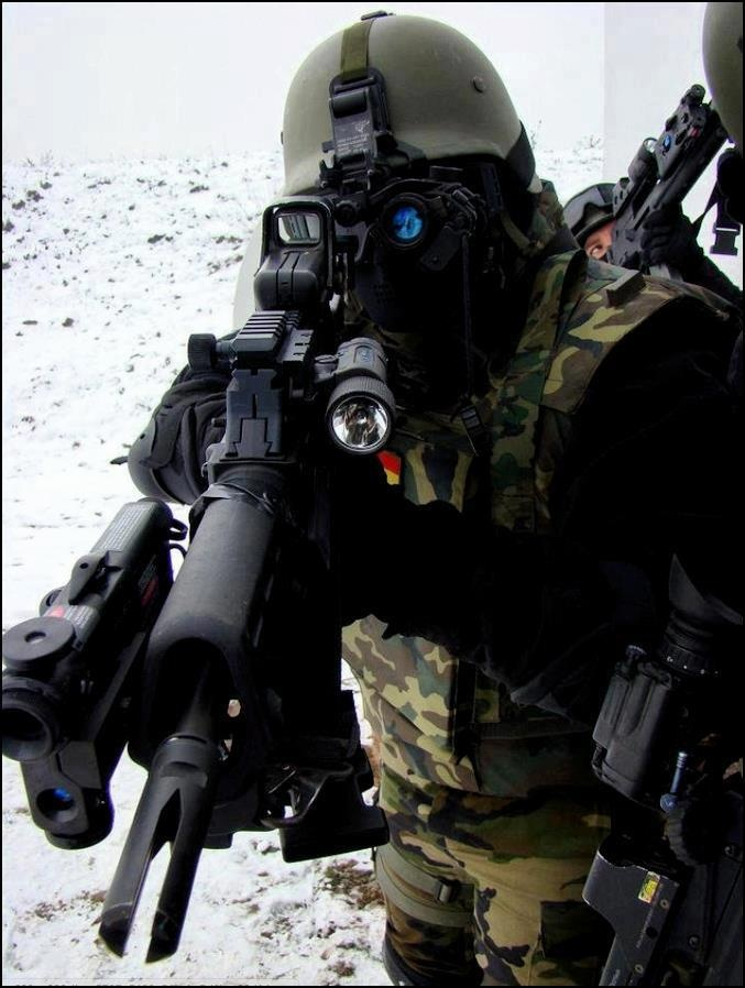 Unidad de Operaciones Especiales (UOE) Infanteria de