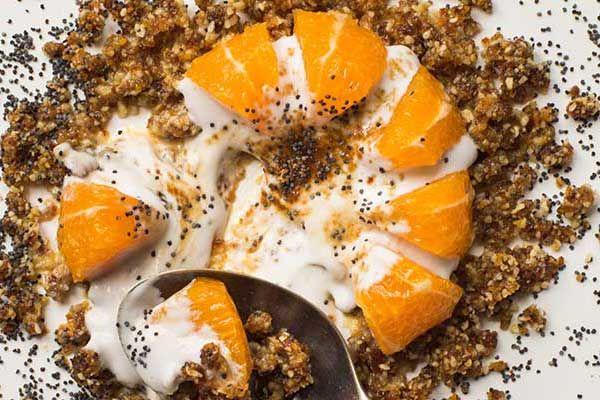 Citrus breakfast crumb – Recipes – Bite