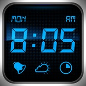 My Alarm Clock  Wake up and go to sleep to your favorite iPod music, get your own collection of exclusive designer clocks, know weather conditions in your area, and light up the darkness with a powerful built-in flashlight!
