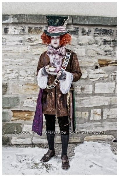 Awesome Homemade Mad Hatter Book Character Costumes