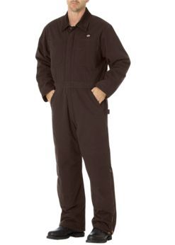 Sanded Duck Insulated Coverall | Men's Coveralls | Dickies.com