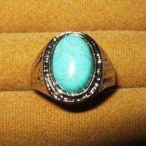 Cincin Pria Bermata Pirus Oval sebesar 20mm x 10mm Bahan Perak berkualitas, dengan lingkaran cincin lebar 20mm yang sangat halus terasa dijari sehingga tidak membuat jari anda terluka atau lecet.