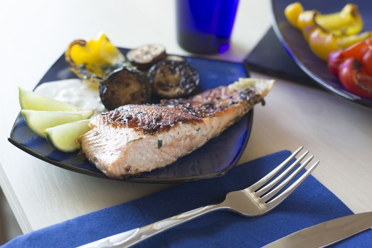 With summer coming up there is no better way to celebrate than to break out the grill. Whether your version is a stovetop grill plate or a full-fledged backyard endeavor, this recipe will utilize either wonderfully. foodfornet.com
