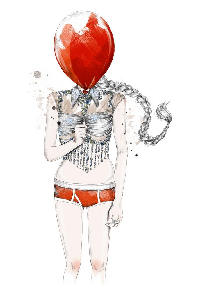 by Esra Røise. Illustration.