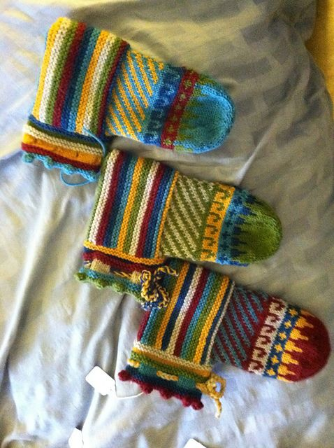 843 best Knitting: Slippers & Boots images on Pinterest | Knit ...
