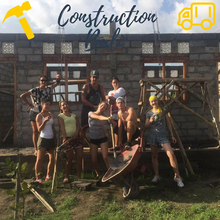 2016 Bali construction program. Help the poor. Apply online. Over 25 years in operation, reasonable program fees, structured and secure.