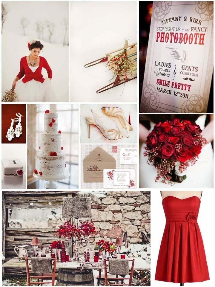 48 Best Grey Red Wedding Images On Pinterest