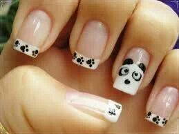 lieve panda nagels