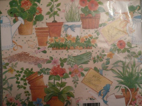 Vintage Bridal Gift Wrap Wedding Wrapping Paper by Tasteliberty, $8.00