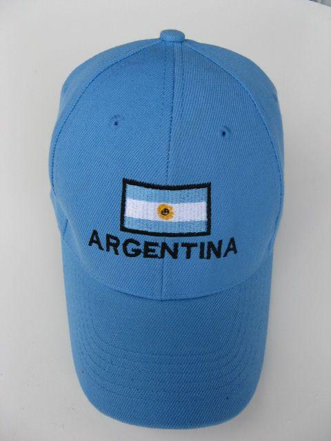 ARGENTINA FLAG SOCCER HAT ALL STAR SPORTS BASEBALL CAP