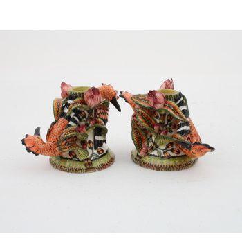Ardmore Ceramics: Hoopoe Candle Pair