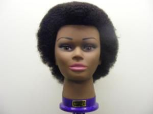 "finally found a site that sells REAL afro kinky textured, tight-coiled mannequin heads Training Head Afro (2mm Tight Curl) - MF021 - 6-8"" Hair [FR/MF021]	£42.27 (£35.23 ex. VAT) .  http://www.treasurehouseofmakeup.co.uk/product_info.php?cPath=1228_1231_1234&products_id=6553"