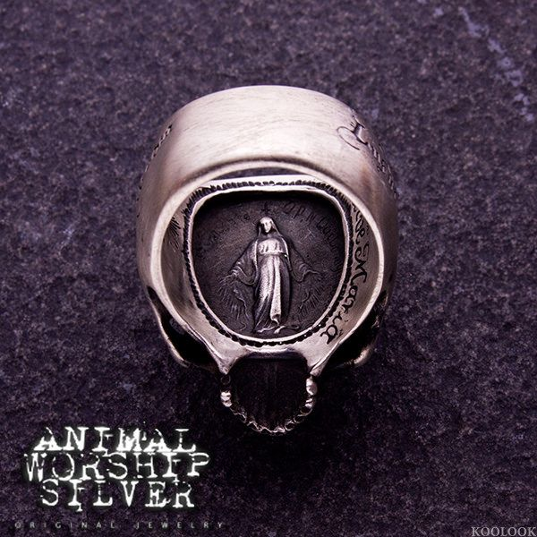 #ANIMALWORSHIP #飾品 #銀飾 #戒指 #skull #骷髏