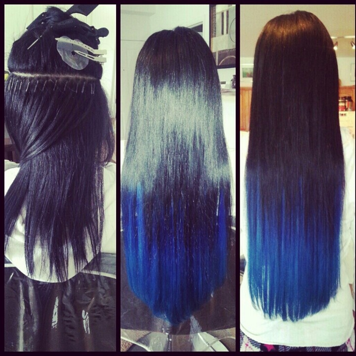 Gallery For > Dark Blue Ombre