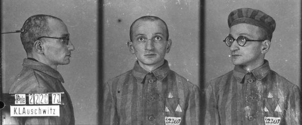 """Wilhelm Brasse (3 December 1917 – 23 October 2012) was a Polish professional photographer and a prisoner in Auschwitz during World War II. He became known as the """"famous photographer of Auschwitz"""". Brasse was of mixed Austrian-Polish descent. He learned photography in Katowice at the atelier of his own aunt. After the 1939 German invasion of Poland and occupation of Brasse's hometown... Read more »"""