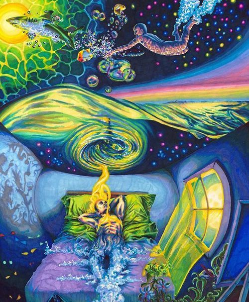 Dream, psychedelic image